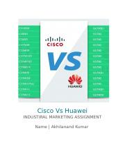 Cisco Vs Huawei.docx