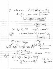 Solutions EXAM 2 sample questions