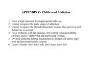 Children of Addiction