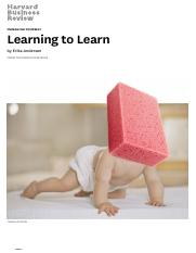 Learning to Learn