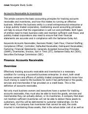Accounts Receivable & Inventories Research Paper Starter - eNotes.pdf