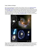 Galaxy Collisions and Merger2