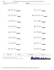 Math Worksheets_ Order of Operations_ More Complex Order of Operations • DadsWorksheets
