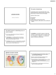 PRINTABLE LESSON 7 - Media strategy