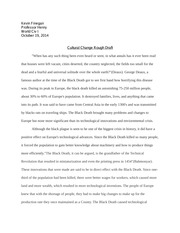 history paper rough draft
