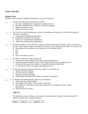practice exam for exam 1 fall 2012 section a