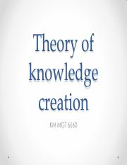 Theory of knowledge creation.pdf