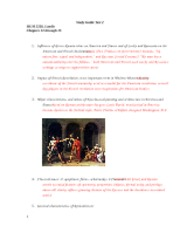 Test 2 Study Guide Spring 2011 (12-15)