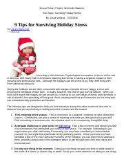 Surviving Holiday Stress.docx