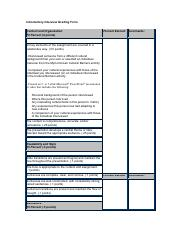 Microsoft Word - Introductory Interview Grading Form