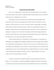 history essay #1 - final draft