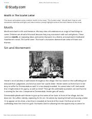 Motifs in The Scarlet Letter | Study.com.pdf