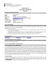 3440 b course outline fall 2013 Mos 4466a - accounting theory  course outline: section 001 and 002 / fall 2013  1 course information: 11 class location and time: section 001 – thursdays  contact the course instructor if you require material in an alternate format or if you require any other.