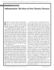Inflammation - The Root of Our Chronic Diseases 2015.pdf