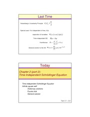 Lecture05-(2.1-2.2).Time_Independent_Schrodinger