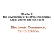 Week 8 -10th CH 7 - Legal and Ethical Issues (1)