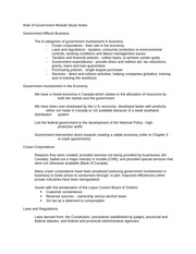 Role_of_Government_Study_Notes
