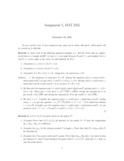 assignment5solutions