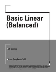 Basic Linear Balanced