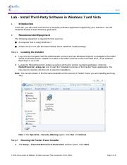 6.1.1.9 Lab - Install Third-Party Software in Windows 7 and Vista.docx
