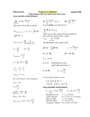 Exam2_2006Spring_Solutions