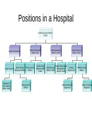 Positions in a Hospital.pptx