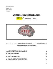 ENGL1113- Critical Issues Research_ PTSD_ThompsonTaryn.pdf