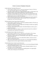 Unit2lesson4AnalysisQuestions