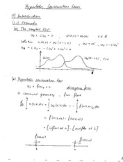 Math 667 Hyperbolic Conservation Laws Notes
