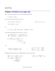 Midterm 4 Solutions