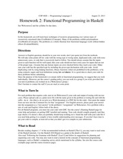 hw2-haskell