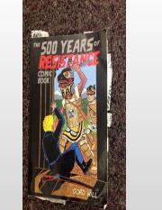 500 years of resistance Warrior Spirits and Sports Mascots