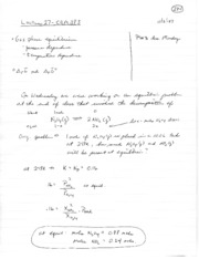 Lecture notes 27