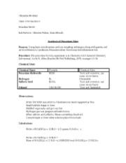 chem 1212 chem lab louisiana state university course hero rh coursehero com Chem Lab Report Lab Chem MSDS
