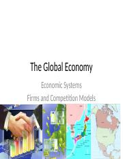 Dynamics of Business and Economics