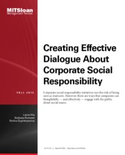 CSR and Creating Effective Dialogue