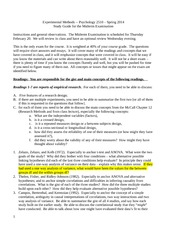 psychology 2510 study guide spring 2014 FINAL