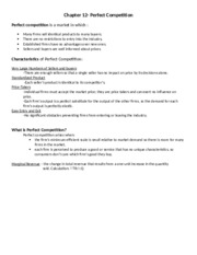 Chapter 12-Econ Notes