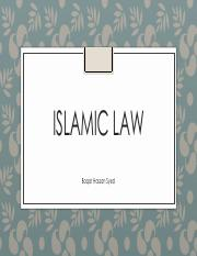 Session+8+Islamic+Law-1