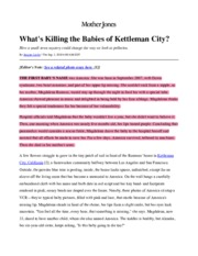 Leslie (2010) - What's Killing the Babies of Kettleman City.pdf