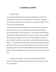Dependency Paper (Graded)