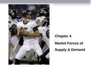 Ch 4 Market Forces of Supply and Demand Student Version