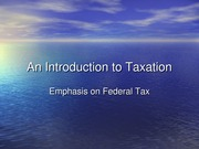 2012.1 An Introduction to Taxation(2)