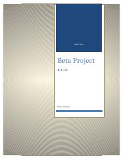 BetaProject.docx