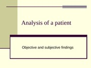 ANLS 1617 Analysis of a Patient