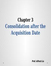 Chapter3_Post Acquisition Consolidation.pptx