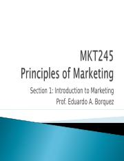 Section 1 - Introduction to Marketing.ppt