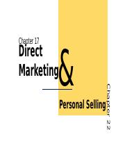 IMC 17.2B_1374_CP_Group 3_Direct MKT & Personal Selling.pptx