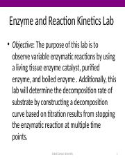 CHM 115L Enzyme and Reaction Kinetics1 (1).pptx