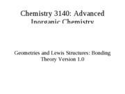 lewis structure and vsepr review